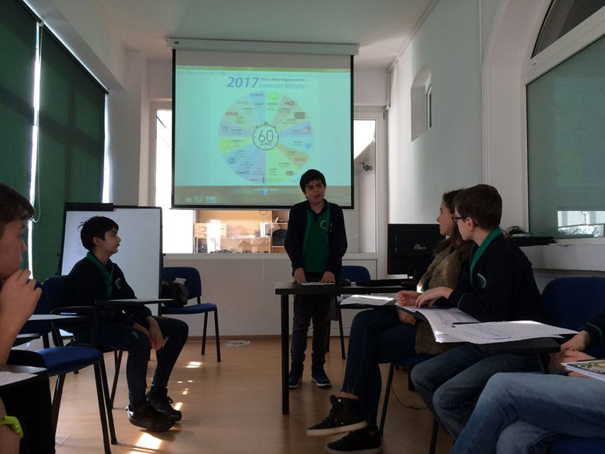 Educatie antreprenoriala Junior Achievement Romania