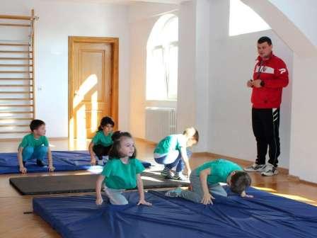 Campionat de gimnastica intre clase