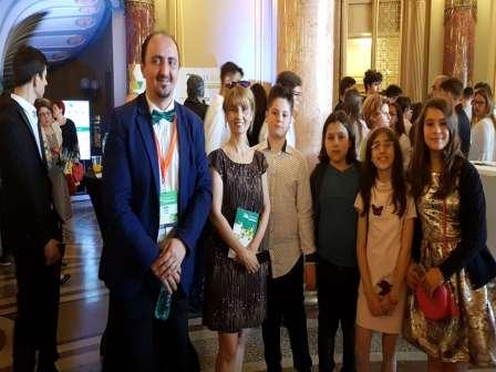 Clubul Micul Antreprenor Junior Achievement la Gala Asociaţiei Junior Achievement România